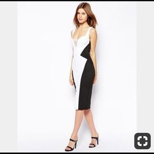 🔥NEVER WORN🔥ASOS bodycon dress with lace